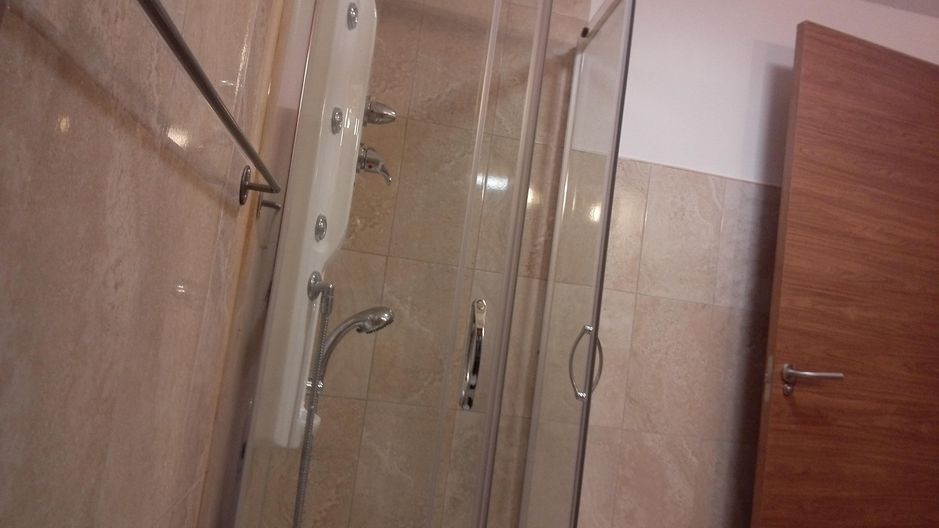 ducha puerta